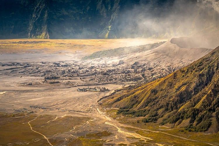 Bromo vulkaan, Indonesië