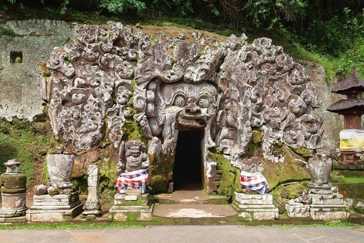 Goa Gajah tempel, Ubud