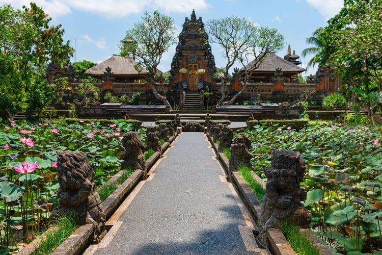 Pura Taman Saraswati, Ubud