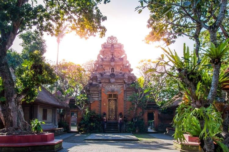 Puri Saren Agung paleis, Ubud