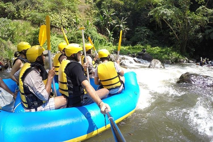 Wildwater raften, Ubud