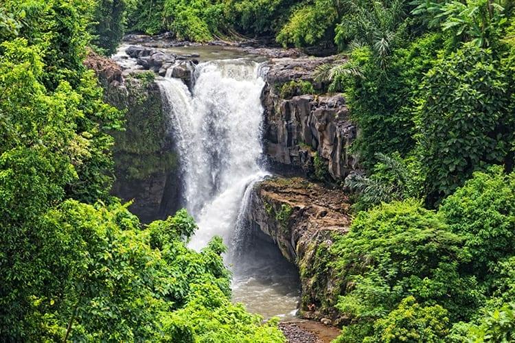 Tegenungan waterval, Ubud