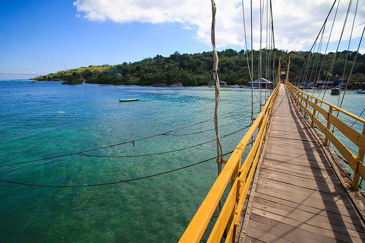 Suspension Bridge, Nusa Lembongan