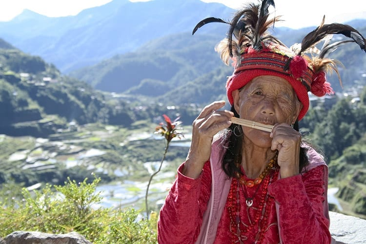 Ifaguo vrouw, Banaue