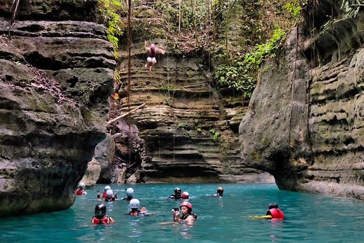 Canyoneering, Cebu