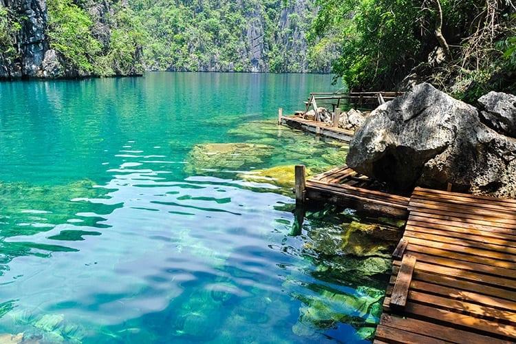 Lake Barracuda, Coron
