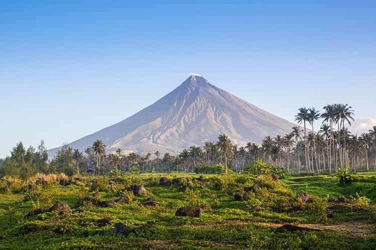 Mount Mayon, Donsol