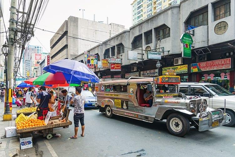 Jeepney, Manilla