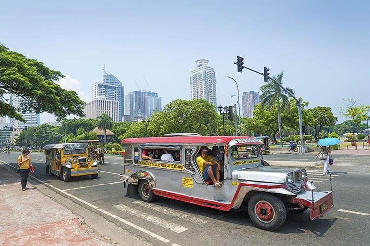 Jeepney in Manilla