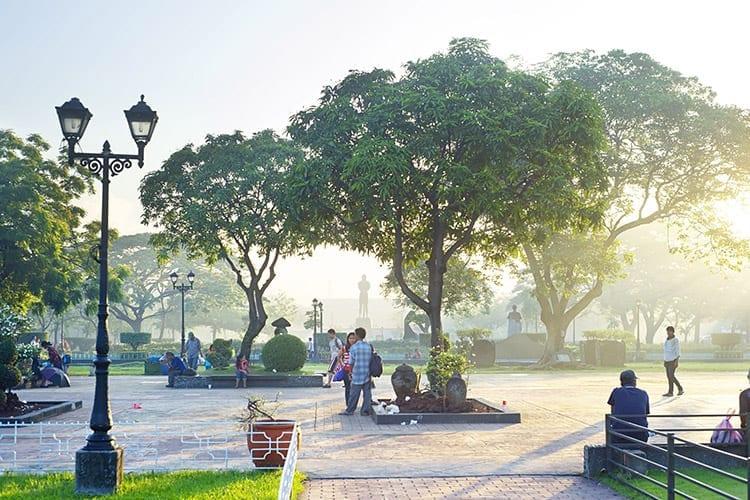 Rizal Park, Manilla