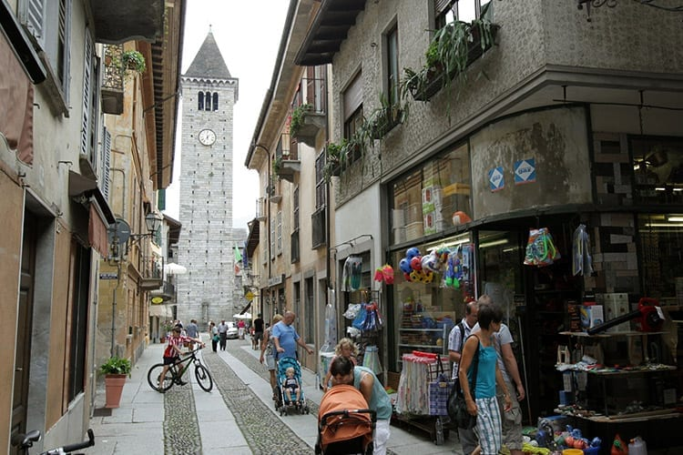 Cannobio centrum