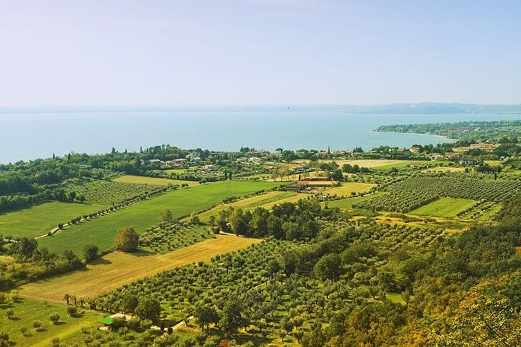 Franciacorta wijngaarden, Iseomeer