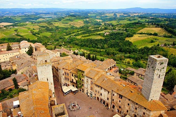 14 torens van San Gimignano