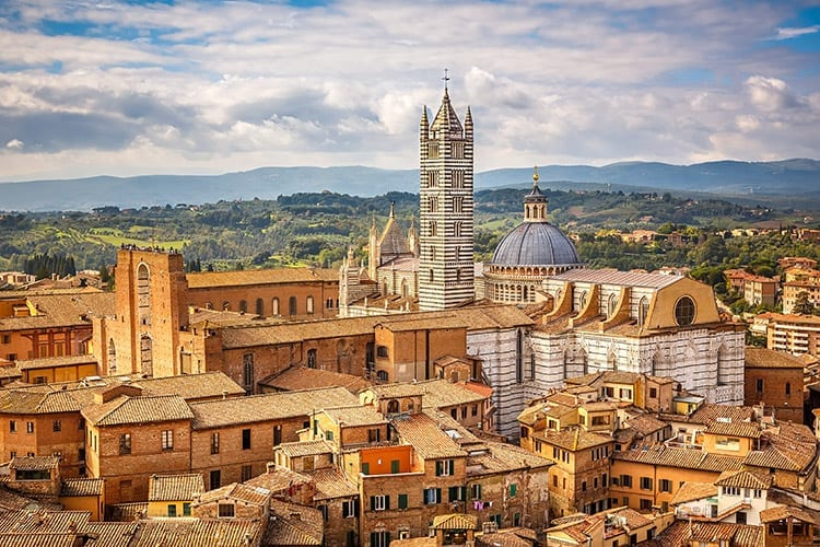 Siena, Toscane