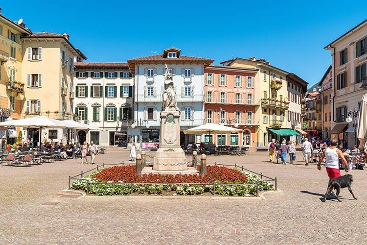 Piazza Ranzoni, Verbania