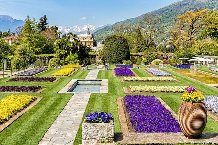 Botanische tuinen bij Villa Taranto