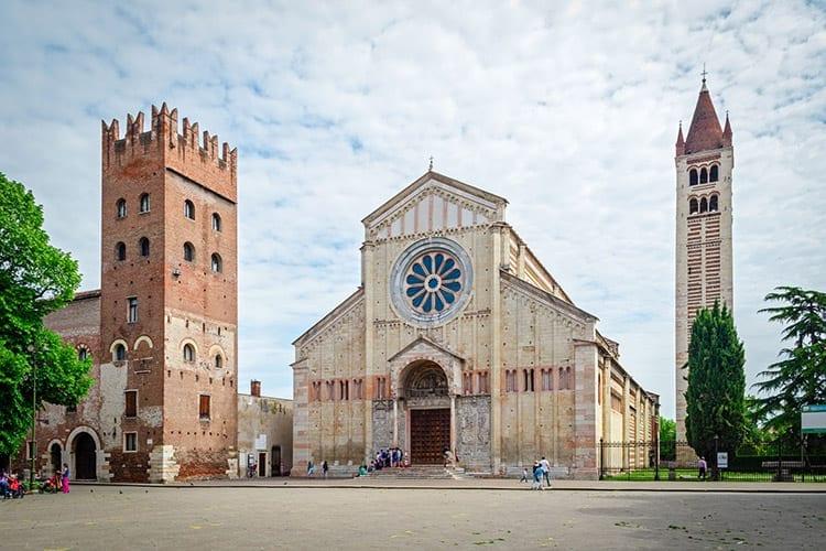 San Zeno Basiliek, Verona