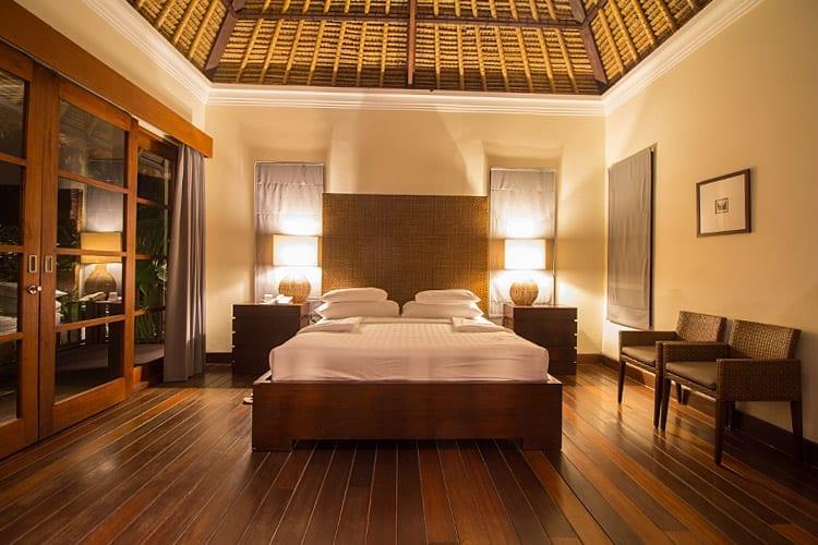 Karma Kandara Resort slaapkamer
