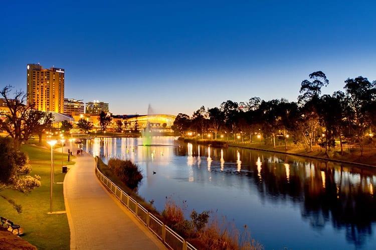Torres rivier, Adelaide