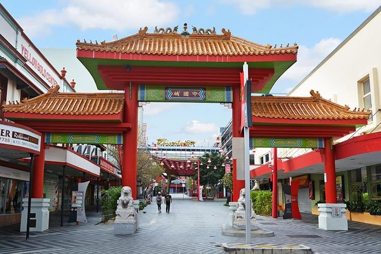 Chinatown in Brisbane