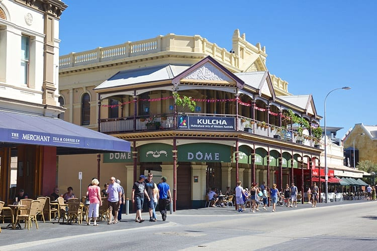 Fremantle Cappuccino Strip, Perth