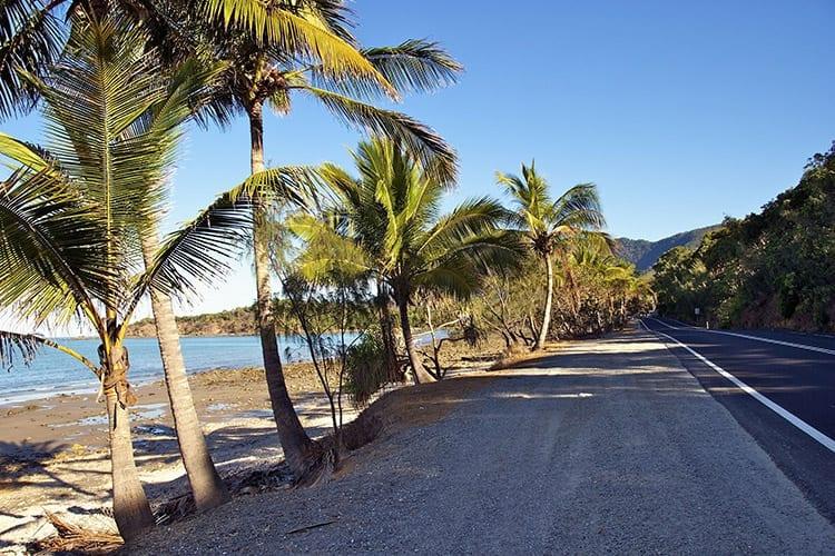 De weg naar Port Douglas