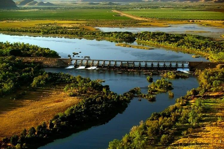 Kununurra dam, The Kimberley