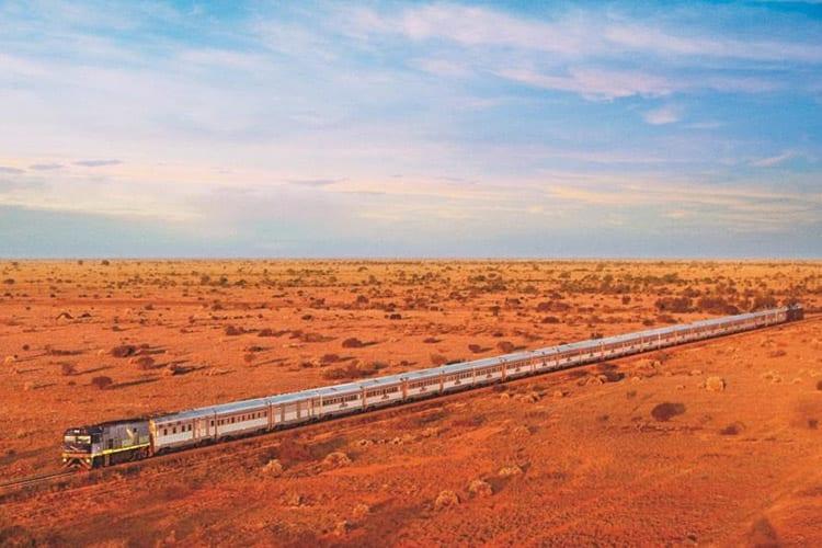 Treinroutes Australië