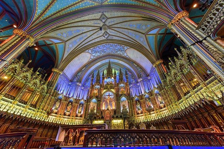 Basilique Notre Dame, Montreal