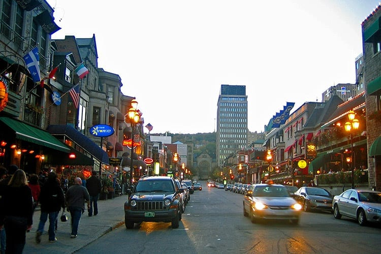 Crescent Street, Montreal