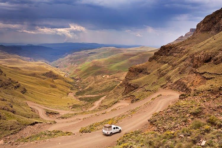 Sanipas, Lesotho