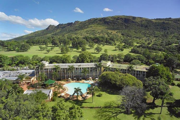 Lugogo Sun Hotel in de Ezulwini Vallei, Swaziland