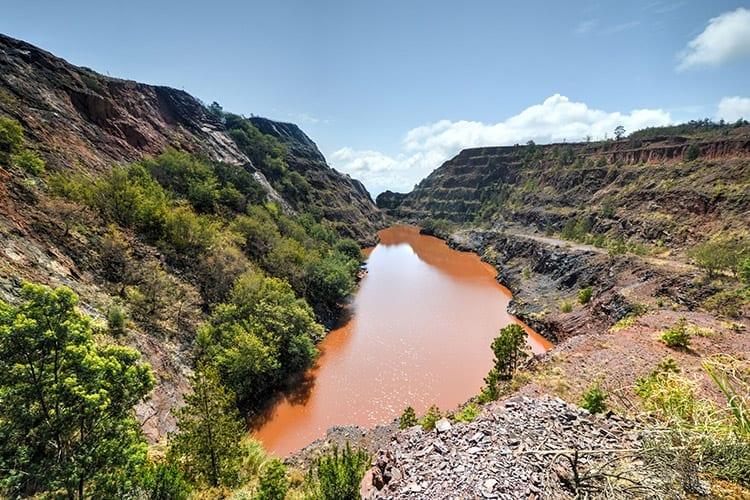 Ngwenya Mine in het Malolotja National Park