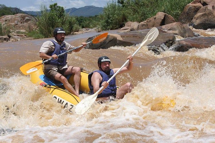 Usutu rivier raften, Swaziland
