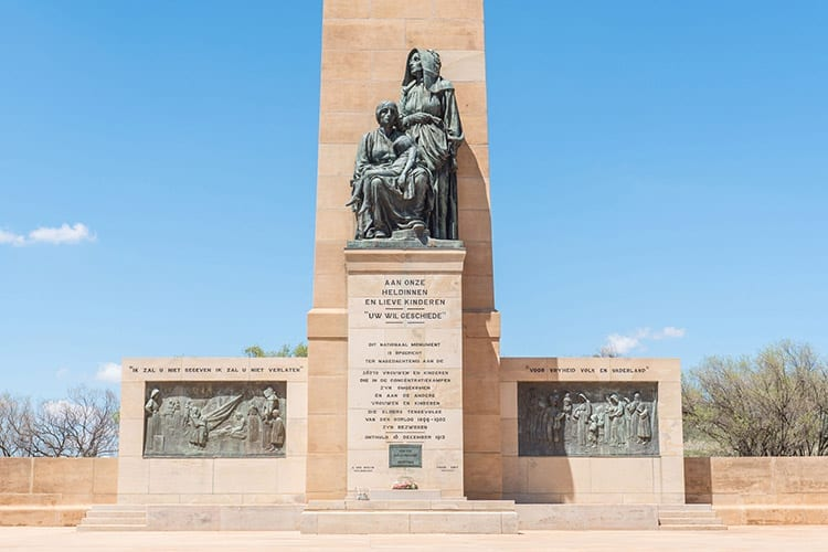 National Women's Monument, Bloemfontein