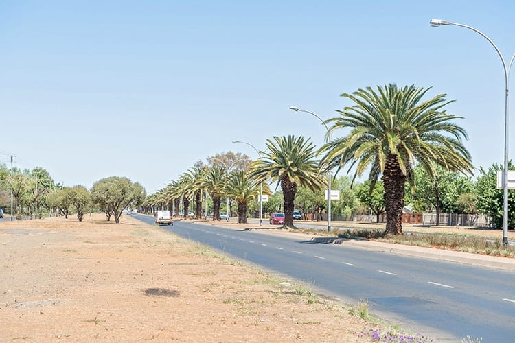 Bloemfontein route