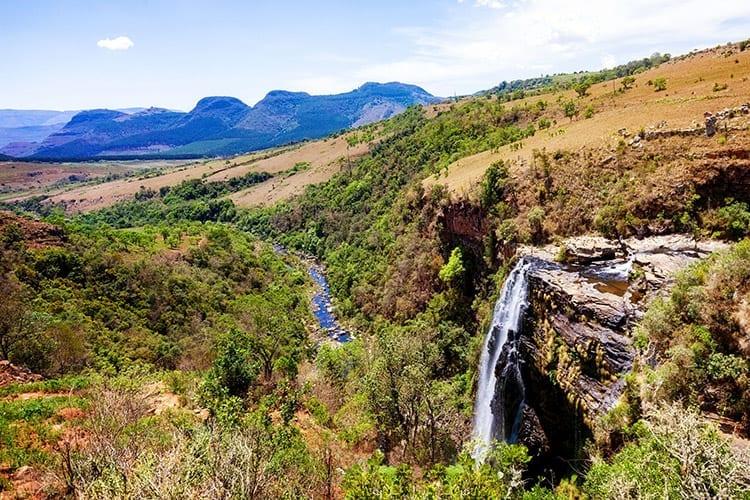 Lisbon Falls, Zuid-Afrika