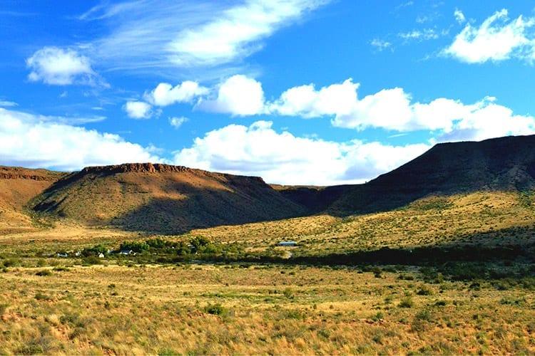 Karoo landschap in Oost-Kaap