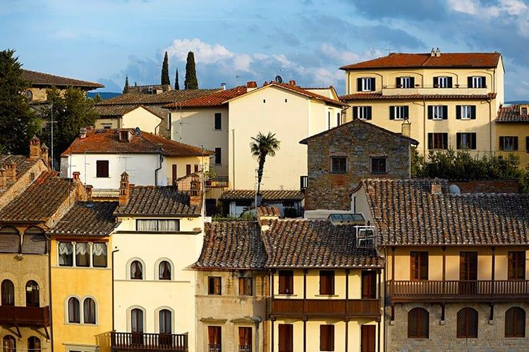 Arezzo centrum