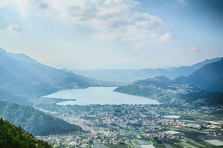 Caldonazzomeer, Italië