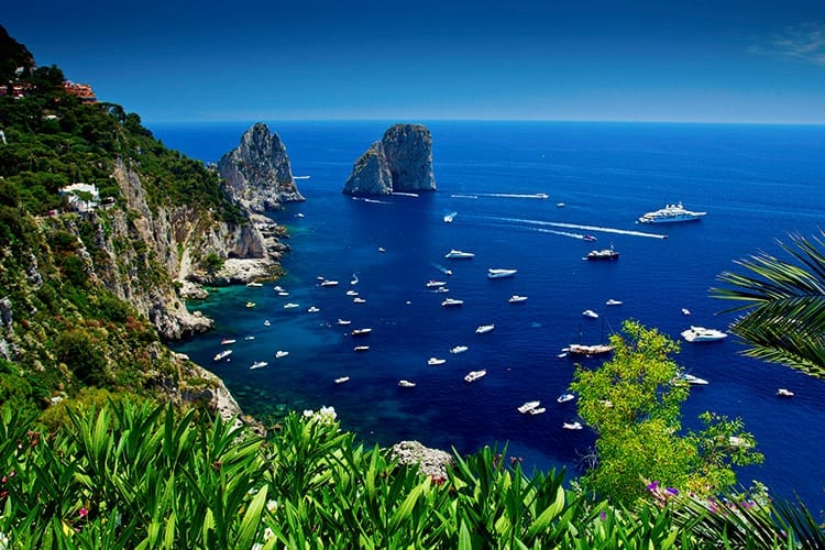 Giardini di Augusto, Capri