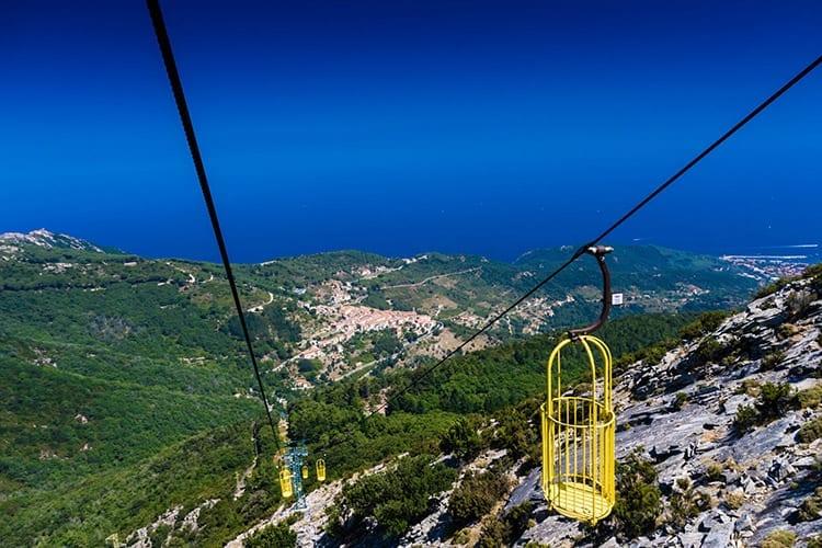 Monte Capanne kabelbaan, Elba