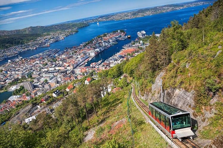 Floien, Bergen