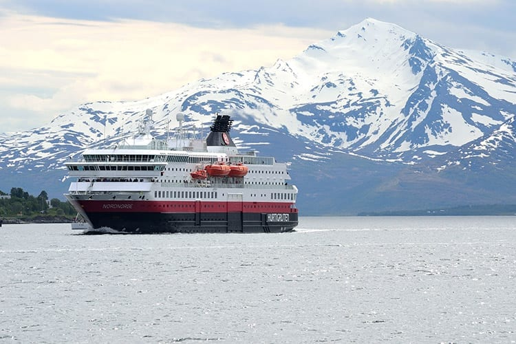 Hurtigruten Coastal Ferry