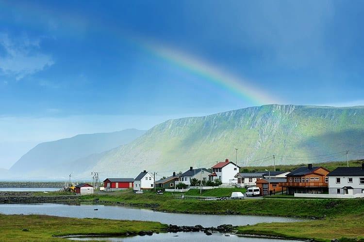 Skarsvåg, Noordkaap