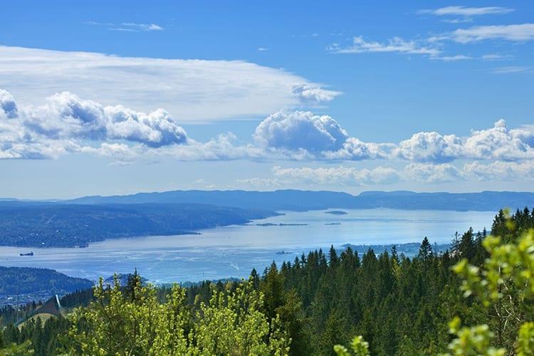 Oslofjord, Noorwegen