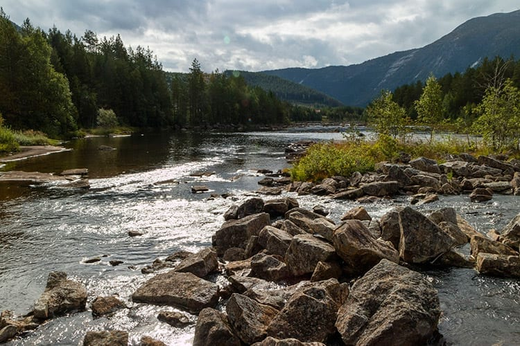 Otra rivier, Setesdal