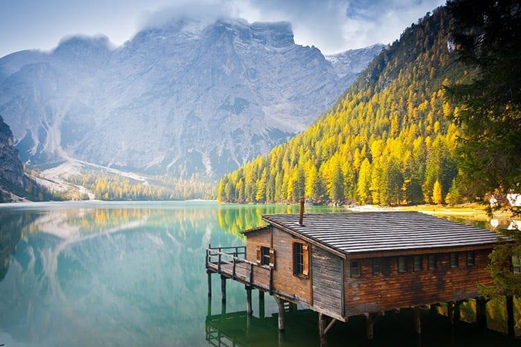 Lago di Braies, Italië