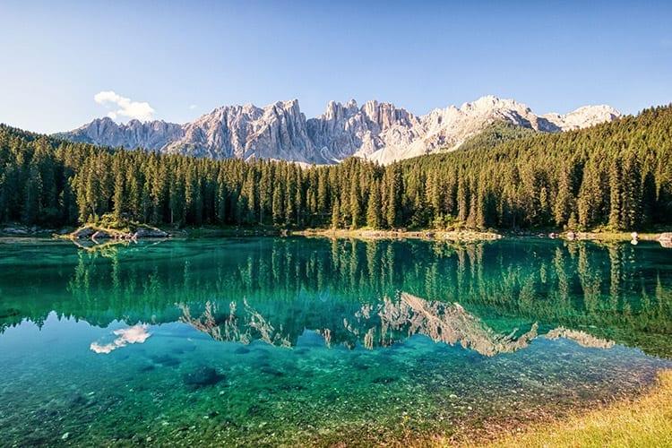 Lago di Carezza, Italië