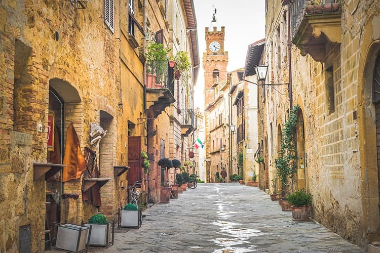 Pienza, Italië